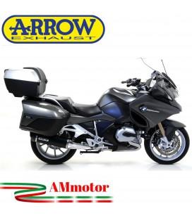 Arrow Bmw R 1200 RT 14 - 2016 Terminale Di Scarico Moto Marmitta Race-Tech Alluminio Dark Omologato