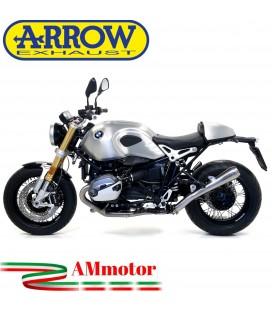 Arrow Bmw R Nine T 14 - 2019 Terminale Di Scarico Moto Marmitta Pro-Race Nichrom Omologato