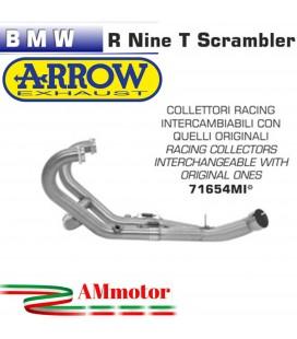 Bmw R Nine T Scrambler 16 - 2019 Arrow Tubo Elimina Kat Catalizzatore Moto Collettori Di Scarico