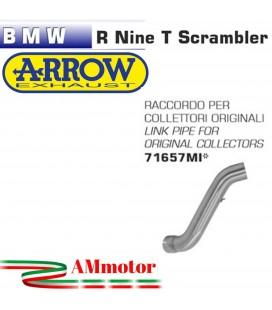 Raccordo Centrale Bmw R Nine T Scrambler 16 - 2019 Per Scarico Moto Arrow
