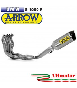 Arrow Bmw S 1000 R 14 - 2016 Kit Completo Competion Con Terminale Race-Tech Titanio