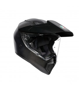 Casco Agv Ax9 Matt Carbon Integrale Moto