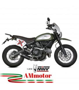 Mivv Ducati Scrambler 800 Terminale Di Scarico Moto Marmitta Gp Pro Black