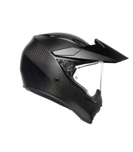 Casco Agv K1 Solid Black Integrale Nero Lucido Moto