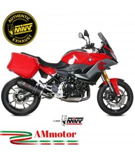 Mivv Bmw F 900 XR Terminale Di Scarico Moto Marmitta Oval Carbon Cap Omologato