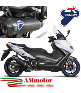 Scarico Completo Yamaha T-Max 560 Termignoni Terminale In Titanio Scooter Moto Racing