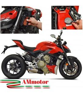 Scarichi Termignoni Ducati Streetfighter V4 Moto Silenziatori In Titanio Racing