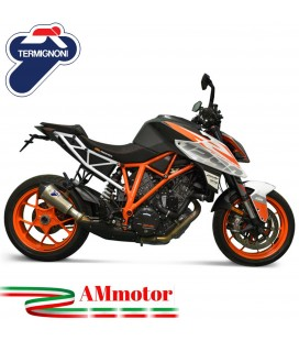 Termignoni Ktm Super Duke 1290 17 - 2019 Terminale Di Scarico Moto Marmitta Relevance Conico Titanio