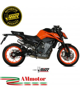 Mivv Ktm 790 Duke Terminale Di Scarico Moto Marmitta Mk3 Inox Racing