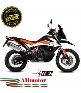 Mivv Ktm 790 Adventure / R Terminale Di Scarico Moto Marmitta Speed Edge Inox Omologato