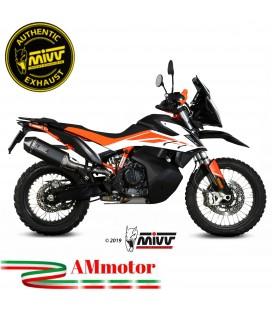 Mivv Ktm 790 Adventure / R Terminale Di Scarico Moto Marmitta Speed Edge Black Omologato