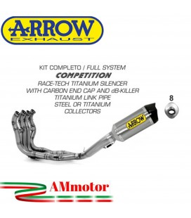 Arrow Bmw S 1000 RR 09 - 2011 Kit Completo Competion Con Terminale Race-Tech In Titanio
