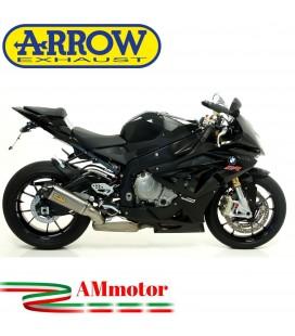 Arrow Bmw S 1000 RR 12 - 2014 Terminale Di Scarico Moto Marmitta Works Titanio Per Collettori Originali Omologato
