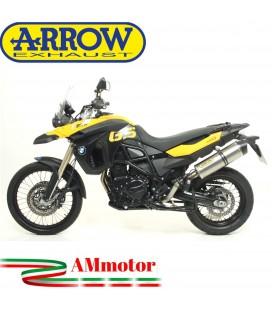 Arrow Bmw F 800 GS / Adventure 08 - 2016 Terminale Di Scarico Moto Marmitta Maxi Race-Tech Titanio Omologato
