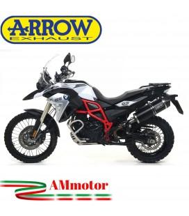 Arrow Bmw F 800 GS / Adventure 17 - 2018 Terminale Di Scarico Moto Marmitta Maxi Race-Tech Alluminio Dark Omologato