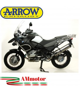 Arrow Bmw R 1200 GS / Adventure 10 - 2012 Terminale Di Scarico Moto Marmitta Maxi Race-Tech Titanio Omologato