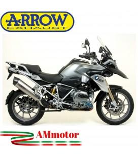 Arrow Bmw R 1200 GS / Adventure 13 - 2016 Terminale Di Scarico Moto Marmitta Maxi Race-Tech Titanio Omologato