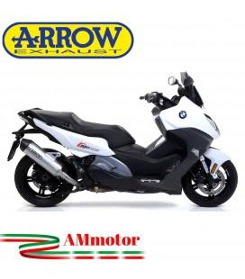 Arrow Bmw C 650 Sport 16 - 2020 Terminale Di Scarico Moto Marmitta Race-Tech Alluminio Omologato