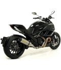 Arrow Ducati Diavel 11 - 2016 Terminale Di Scarico Moto Marmitta Race-Tech Titanio