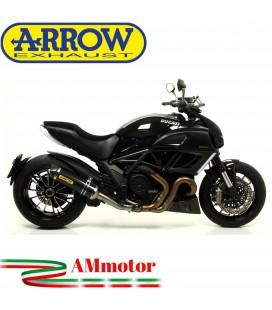 Arrow Ducati Diavel 11 - 2016 Terminale Di Scarico Moto Marmitta Race-Tech Carbonio