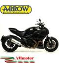 Arrow Ducati Diavel 11 - 2016 Terminale Di Scarico Moto Marmitta Race-Tech Alluminio
