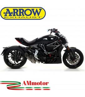 Arrow Ducati XDiavel 16 - 2019 Kit Terminali Pro-Race Titanio Con Raccordo Centrale Racing