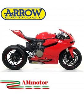Arrow Ducati Panigale 1199 12 - 2015 Terminali Di Scarico Moto Marmitte Works Titanio