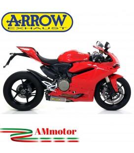 Arrow Ducati Panigale 1299 15 - 2016 Terminali Di Scarico Moto Marmitte Works Titanio