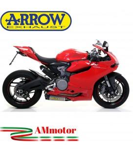 Arrow Ducati Panigale 899 14 - 2015 Terminali Di Scarico Moto Marmitte Works Titanio
