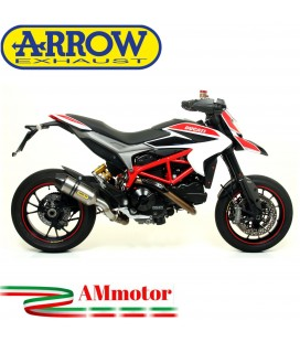 Arrow Ducati Hypermotard / Hyperstrada 821 13 - 2015 Terminale Di Scarico Moto Marmitta Race-Tech Titanio