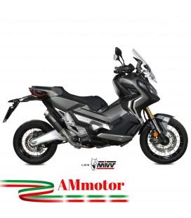 Mivv Honda X-Adv 750 Terminale Di Scarico Marmitta Gp Pro Black Moto Scooter Omologato