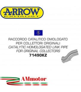 Raccordo Catalitico Ducati Hypermotard / Hyperstrada 939 16 - 2018 Arrow Moto Per Collettori Omologato