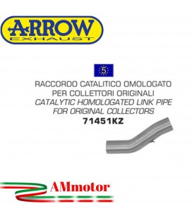 Raccordo Catalitico Ducati Monster 821 14 - 2017 Arrow Moto Per Collettori Omologato