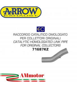 Raccordo Catalitico Ducati Monster 821 18 - 2019 Arrow Moto Per Collettori Omologato