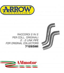 Raccordo 2 In 2 Ducati Monster S2R 1000 05 - 2006 Arrow Moto Per Collettori Originali