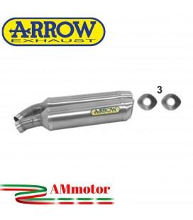 Arrow Ducati Monster 1100 09 - 2010 Terminali Di Scarico Moto Marmitte Thunder Alluminio