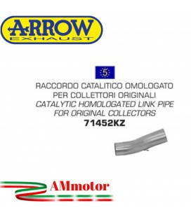 Raccordo Catalitico Ducati Monster 1100 Evo 11 - 2013 Arrow Moto Per Collettori Omologato