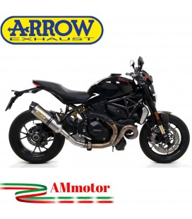 Arrow Ducati Monster 1200 R 16 - 2019 Terminale Di Scarico Moto Marmitta Race-Tech Titanio