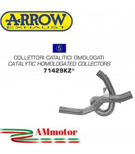 Ducati Multistrada 1200 / 1200 S 10 - 2014 Arrow Moto Collettori Di Scarico Catalitici Omologati Per Scarico Arrow