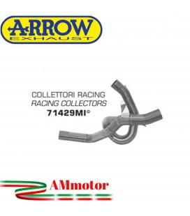Ducati Multistrada 1200 / 1200 S 10 - 2014 Arrow Moto Collettori Di Scarico Racing Per Scarico Arrow