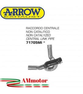 Raccordo Centrale Ducati Multistrada 1260 / 1260 S 18 - 2019 Arrow Moto Elimina Catalizzatore Racing