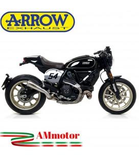 Arrow Ducati Scrambler 800 Cafe' Racer 17 - 2019 Terminale Di Scarico Moto Marmitta Pro-Race Nichrom