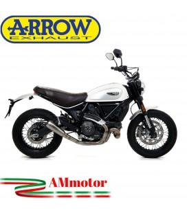 Arrow Ducati Scrambler 800 Classic 17 - 2019 Terminale Di Scarico Moto Marmitta Pro-Race Titanio Racing