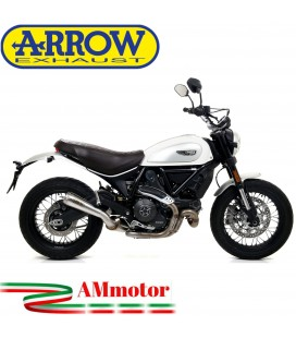 Arrow Ducati Scrambler 800 Classic 17 - 2019 Terminale Di Scarico Moto Marmitta Pro-Race Nichrom