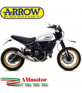 Arrow Ducati Scrambler 800 Desert Sled 17 - 2019 Terminale Di Scarico Moto Marmitta Pro-Race Titanio Racing