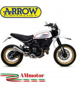 Arrow Ducati Scrambler 800 Desert Sled 17 - 2019 Terminale Di Scarico Moto Marmitta Pro-Race Nichrom