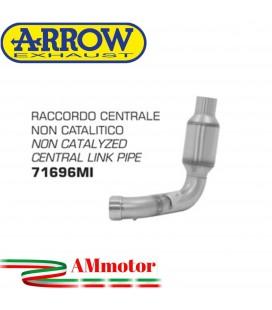Raccordo Centrale Ducati Scrambler 1100 18 - 2019 Arrow Moto Elimina Catalizzatore Racing