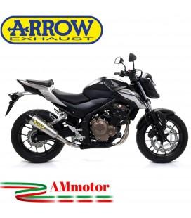 Terminale Di Scarico Arrow Honda CB 500 F 16 - 2018 Slip-On X-Kone Moto
