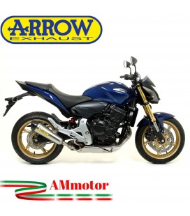 Terminale Di Scarico Arrow Honda CB 600 F Hornet 07 - 2013 Slip-On X-Kone Moto