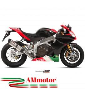 Mivv Aprilia Rsv4 Aprc Terminale Di Scarico Moto Marmitta Suono Inox